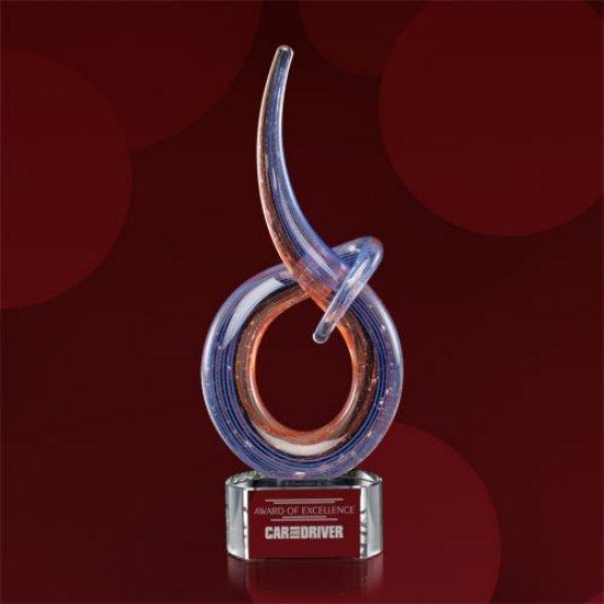 Crewe Award on Clear Base