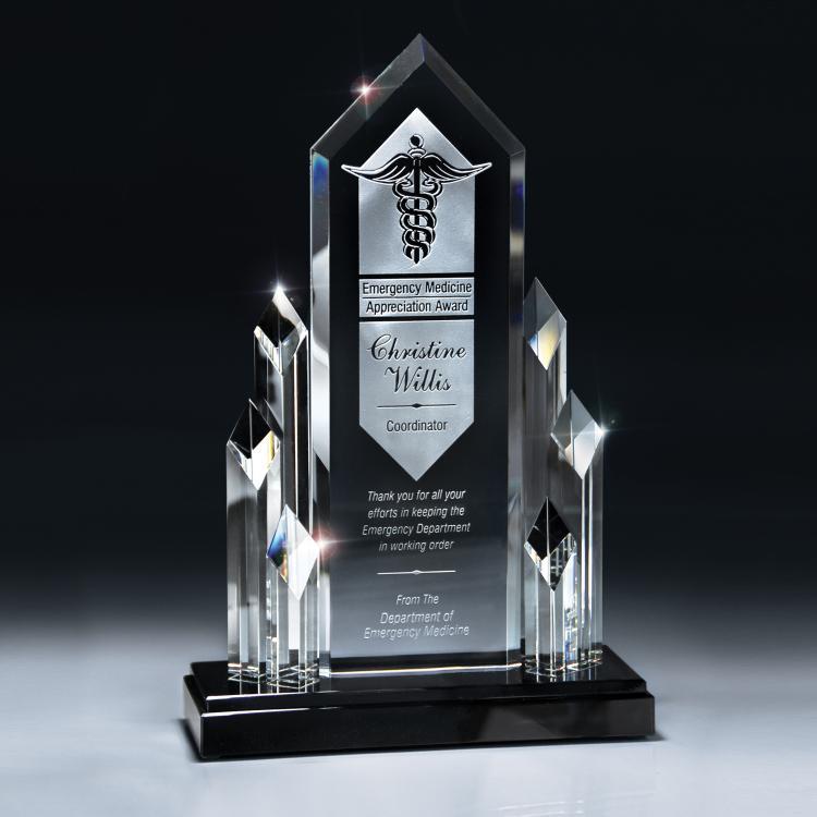 Optic Glass Executive Tower Award