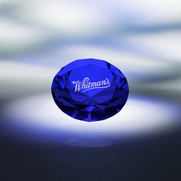 Blue Diamond Paperweight
