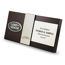 Land Rover Automotive Advisor Guild Plaque