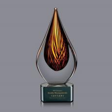 Flame Awards - Barcelo Award on Black Base