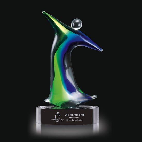 Monza Award on Clear Base