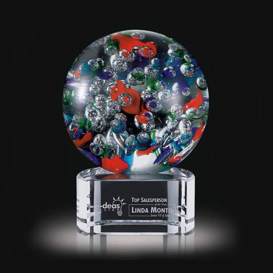 Fantasia Award on Clear Base