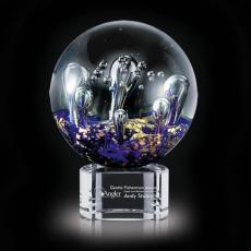 Circle Awards - Serendipity Award on Clear Base