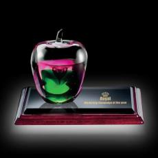Custom Art Glass Awards Plaques & Trophies - Tate Apple