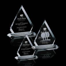 Custom-Engraved Crystal Awards - Apex Award