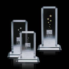 Custom-Engraved Crystal Awards - Dalton Award