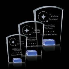 Custom-Engraved Crystal Awards - Venus Award