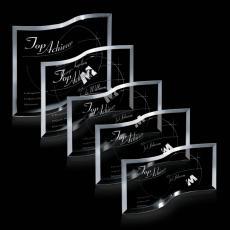 Custom-Engraved Crystal Awards - Southampton Award