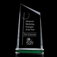 Custom-Engraved Crystal Awards - Preston Award