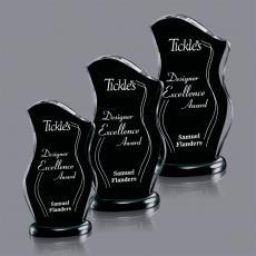 Black Acrylic Awards - Manchester Award
