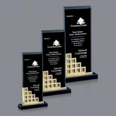 Acrylic Awards Plaques - Lisbon Award