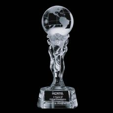 Optic Crystal Awards - Athena Globe Award