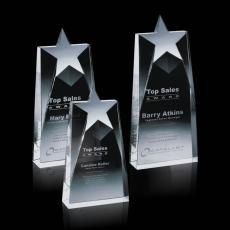Custom-Engraved Crystal Awards - Millington Star Award