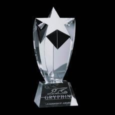 Custom-Engraved Crystal Awards - Crestwood Star Award