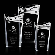 Custom-Engraved Crystal Awards - Violetta Award