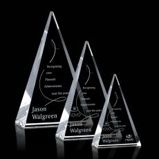 Custom-Engraved Crystal Awards - Monroe Award