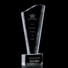 Custom-Engraved Crystal Awards - Maddox Award