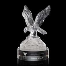 Crystal Eagle Awards - Buntingford Eagle on Optical Base