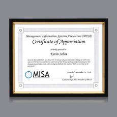 Certificate Frames - Gilda Cert Frame