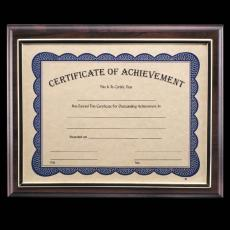 Certificate Frames - Farnsworth Cert Holder