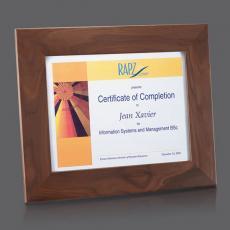 Certificate Frames - Brussels Certificate Holder