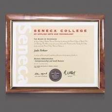 Certificate Frames - Carisbrooke Cert Holder