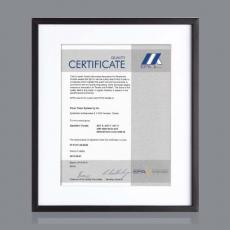 Certificate Frames - Walker Certificate Holder