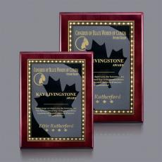 Traditional Plaques - Oakleigh/Maple Leaf Plaque