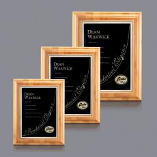Traditional Plaques - Bamboo/Ashbury Plaque