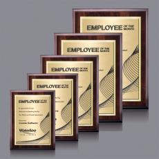 Customizable Plaque Awards - Farnsworth/TexEtchPlaque