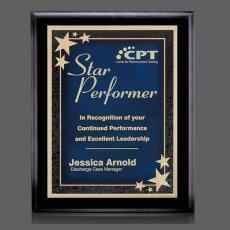 Customizable Plaque Awards - Farnsworth/Starburst Plaque
