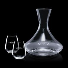 Wine Glasses - Senderwood Carafe & 2 Brunswick Wine