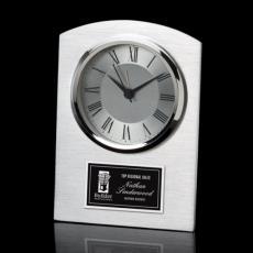 Metal Awards - Carreno Clock - Aluminum