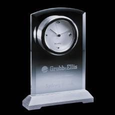 Metal Awards - Jordan Clock - Aluminum Base