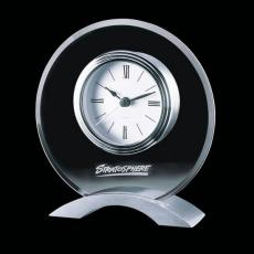 Metal Awards - Rothsay Clock - Aluminum Base