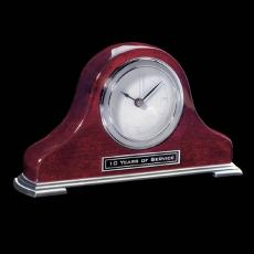 Clock Awards - Matheson Clock - Rosewood/Chrome