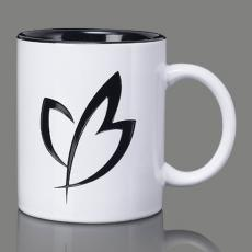 Mugs - Thames Mug - Black/White