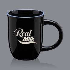 Mugs - Celia Mug - Black/Ocean Blue