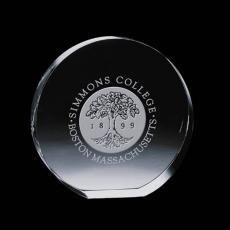 """Custom-Engraved Crystal Awards - Glenwood Award - Optical 3"""""""