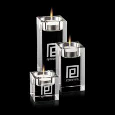Candle Holders - Perth Candleholders - Optical (Set of 3)