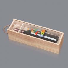 Wine - Bailwick Crate & Acrylic Lid - Decorated 750ml