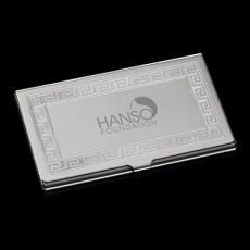 Executive Gifts - Athena Business Card Case - Polished