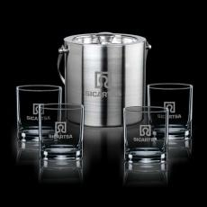 Executive Gifts - Delfina Ice Bucket & Glasses