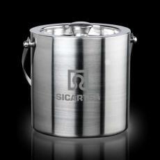 Executive Gifts - Delfina S/S Ice Bucket & Lid