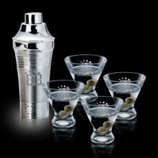 Executive Gifts - Rockport Shaker & Martini Glasses