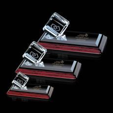 Custom-Engraved Crystal Awards - Carlton on Albion