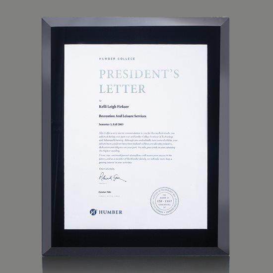 Avonlea Certificate Holder