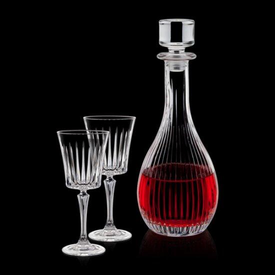 Bacchus Decanter & Wine Glasses