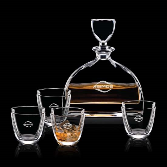 Dalkeith Decanter & Double Old Fashion Glasses